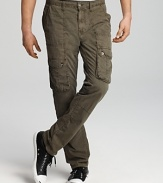 Converse Black Canvas Slim Fit Cargo Pants