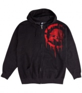 Tag yourself. This hoodie from Metal Mulisha gives your street style extra swagger.