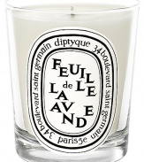 The candle, both green and floral, calls to mind the lavender fields in the South of France. It is the whole plant, and not just its flower, that is celebrated, which gives this candle a more complex fragrance than traditional lavenders.Herbal 50-60 hours burn time Keep wick trimmed to ½ to ensure optimal use Hand poured and made in France