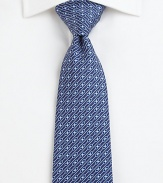 A brilliant print adds irresistible appeal to this fine silk tie.SilkDry cleanMade in Italy