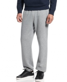 Get comfortable. These Nautica sweatpants dial you back to zero when it's time for a little R&R.