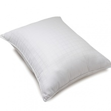 The Luxe is our finest down filled pillow. Features 370 thread count batiste cover with 800 fill power European White Goose Down.