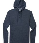 Casual cool. Pull on this hoodie from American Rag and your chilled-out style is set.