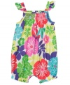 Brighten up your little blossom with this vibrant romper from Carter's.