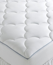 Offering an instant, premium pillowtop for your bed, the Sealy Crown Jewel luxury mattress pad is filled to the brim with hypoallergenic down alternative for a super luxurious night's sleep. 100% pure cotton sateen is cloud-quilted for an even softer hand. Also features a ReliaGrip® skirt for a snug, secure fit, even on extra thick mattresses.