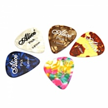 Durable Alice Celluloid Guitar Pick. Christmas Shopping, 4% off plus free Christmas Stocking and Christmas Hat!